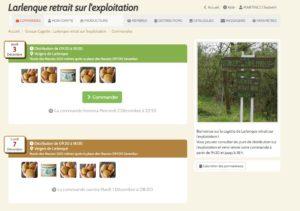 Retrouver les vergers de Larlenque pour une commande en ligne